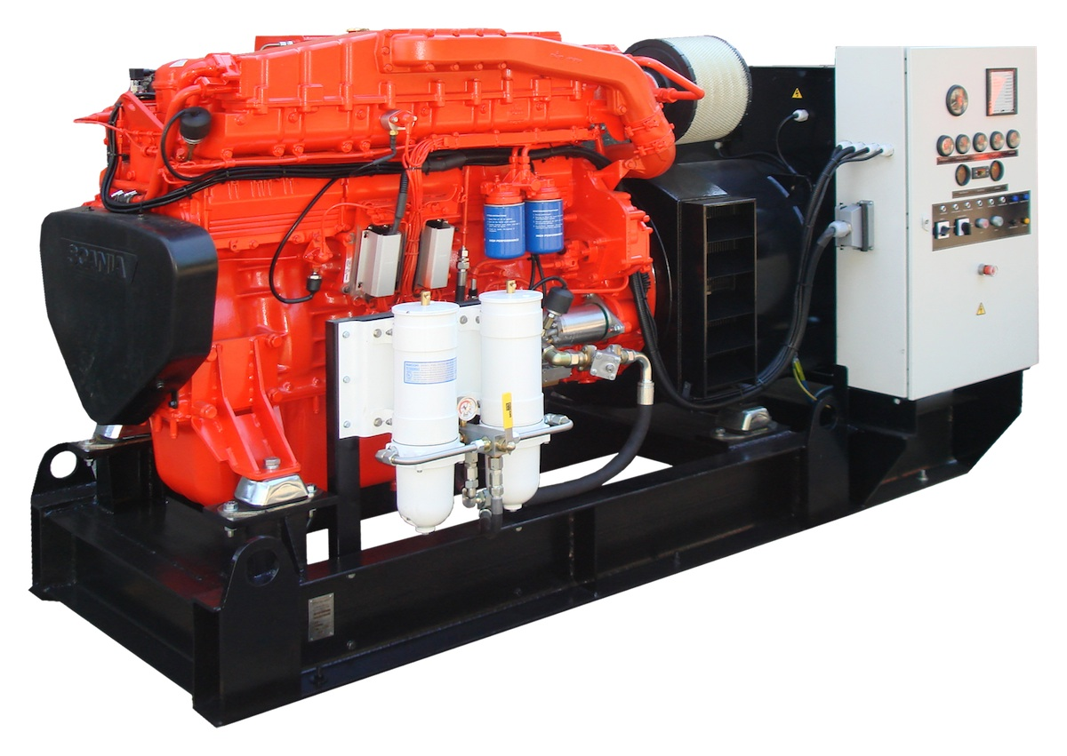 Marien Diesel Engine
