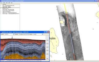 Side scan data processing and interpretation
