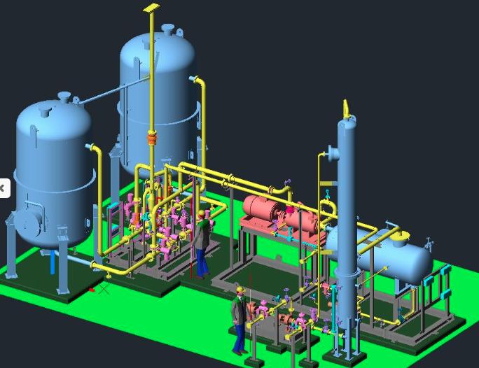 Plant 3d Modelling Solutions Baypore Singapore